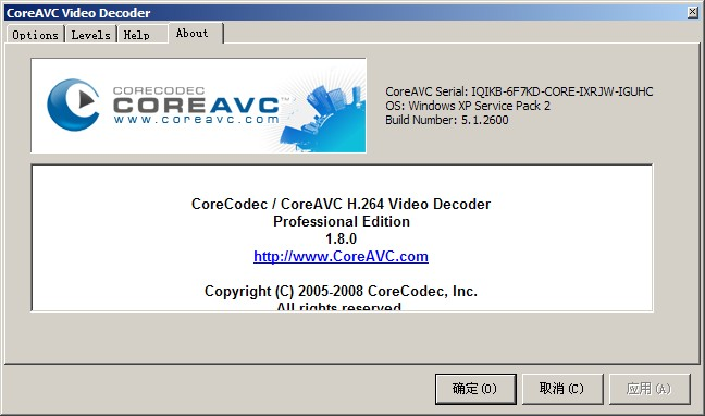Coreavc professional edition 1.8.0.0 cracked